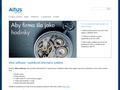 Náhled webu Altus Development
