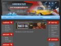 Náhled webu Americké automobily ze Zlína