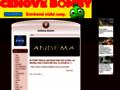 Náhled webu Andema-kosmo