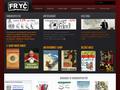 Náhled webu Knihkupectví a antikvariát J. Fryče
