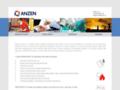 Náhled webu Anzen s.r.o.
