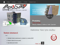 Náhled webu Apostav spol. s.r.o.