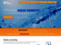 Náhled webu AquaOsmotic Tišnov