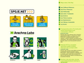 Náhled webu Arachne Labs