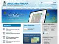 Náhled webu Arcdata Praha, s. r. o.