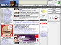 Náhled webu ArchiWeb