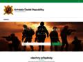 Náhled webu Armáda České republiky