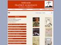 Náhled webu Antikvariát Pražský almanach