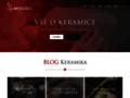 Náhled webu ARTkeramika