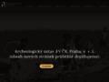 Náhled webu Archeologický ústav AV