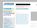 Náhled webu American Scandinavian Student Exchange (ASSE)