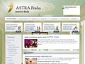 Náhled webu Taneční škola Astra Praha
