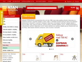 Náhled webu Atan