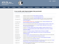 Náhled webu Asociace technických diagnostiků