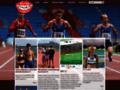 Náhled webu Atletika s radostí