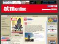 Náhled webu ATM online
