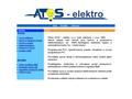 Náhled webu Atos