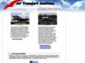 Náhled webu Air Transport Solutions
