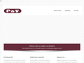 Náhled webu Autobusy P&V