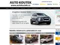 Náhled webu Auto Koutek, s.r.o.