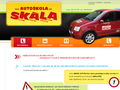 Náhled webu Autoškola Jaroslav Skála