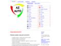 Náhled webu Vrakoviště Az Auto