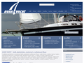Náhled webu Avar-Yacht