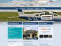 Náhled webu Aviatický klub