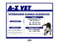 Náhled webu A-Z Vet Veterinární klinika