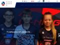 Náhled webu Badminton Benátky
