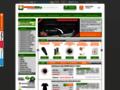 Náhled webu Badminton Shop