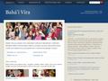 Náhled webu Bahá'í