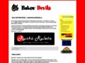 Náhled webu Bakov Devils