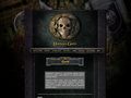 Náhled webu Baldur's Gate