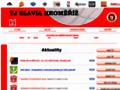 Náhled webu BK TJ Slavia Kroměříž