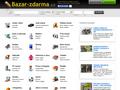Náhled webu Bazar-zdarma.cz