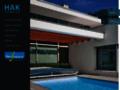 Náhled webu Bazény Desjoyaux, HaK