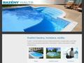 Náhled webu Bazény Waltr