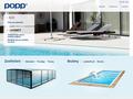 Náhled webu Bazény POPP