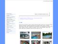 Náhled webu Bazény servis