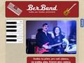 Náhled webu BerBand - Hudební duo