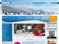Náhled webu Beskydské informační centrum