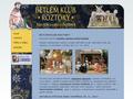 Náhled webu Betlém klub Roztoky