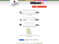 Náhled webu Česká biblická společnost
