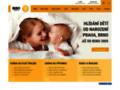 Náhled webu BIBO hlídání dětí
