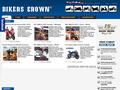 Náhled webu Bikers Crown