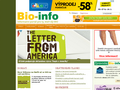 Náhled webu Bio-info