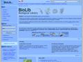 Náhled webu BioLib