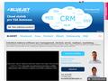 Náhled webu Bluejet CRM