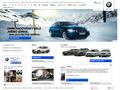 Náhled webu BMW Česká republika